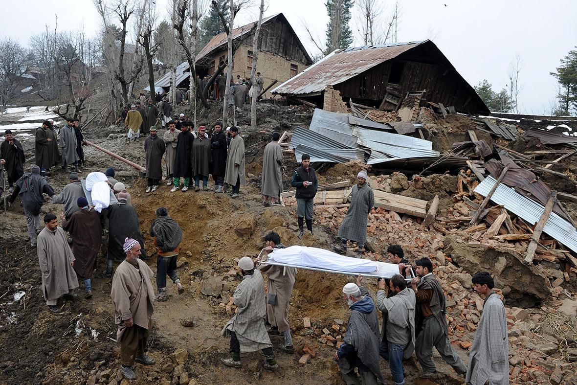 Kashmir landslides