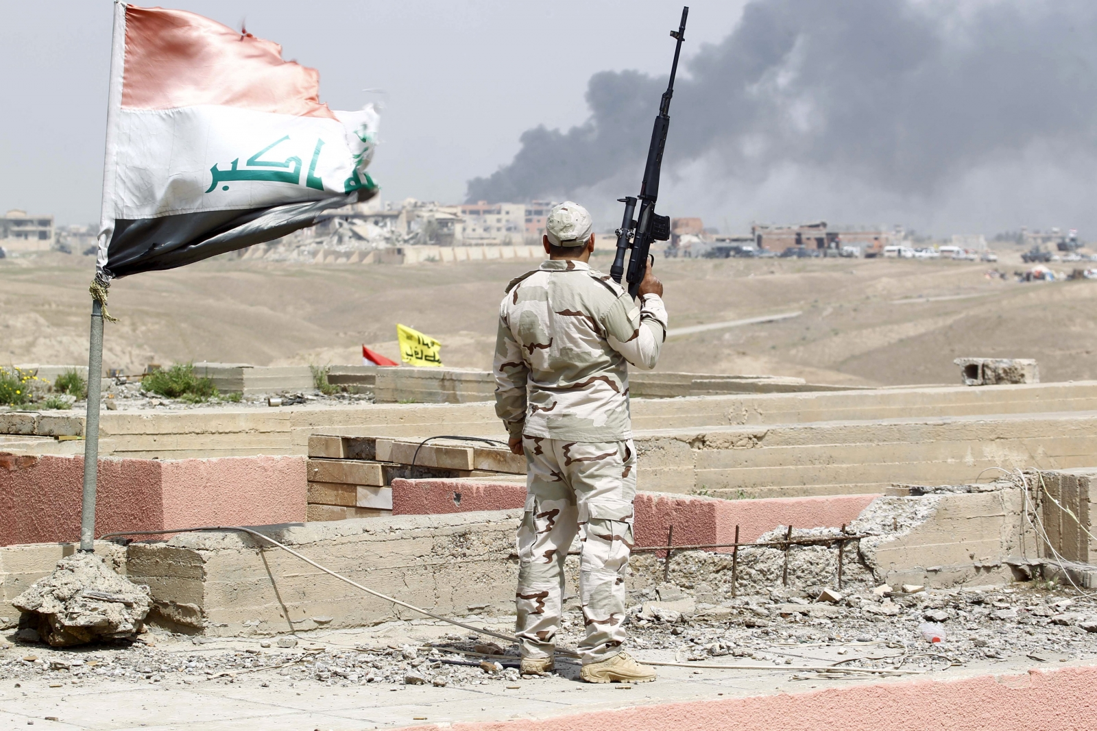 Tikrit victory Iraqi army Isis