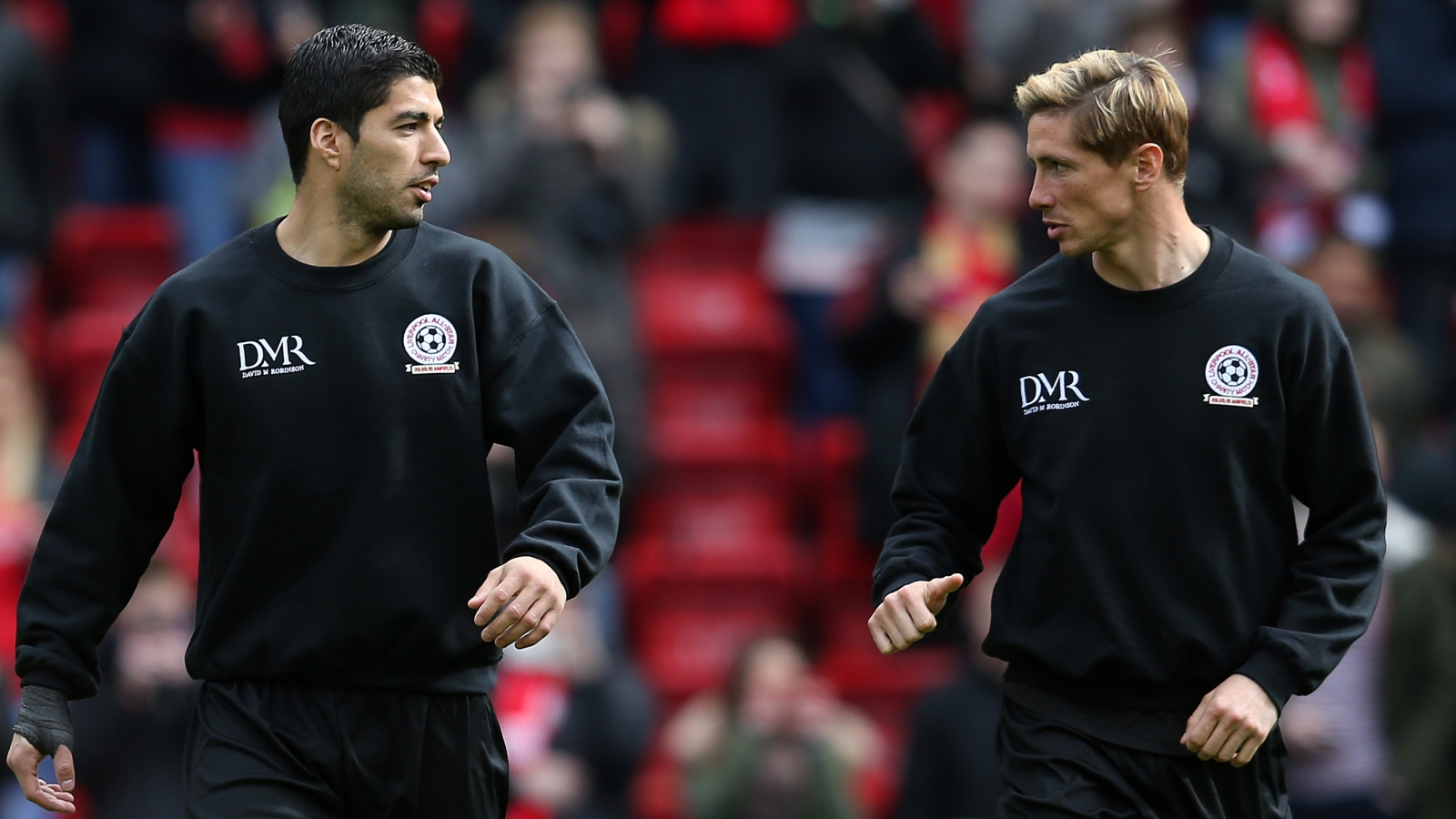Fernando Torres and Luis Suarez