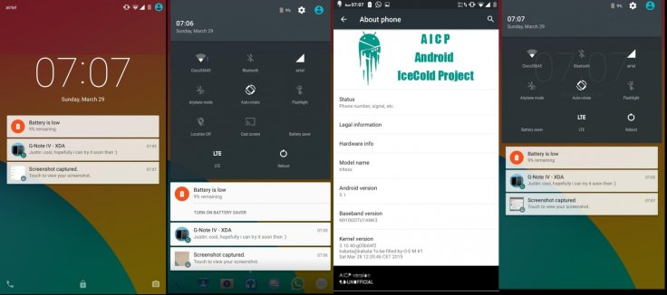 Android 5.1 AICP ROM