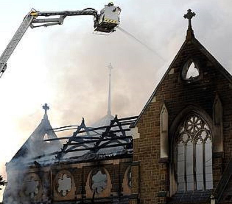 Melbourne Church Fire Brighton