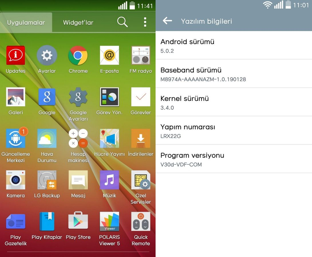 Android 5.0.2 Lollipop software version V30d rolling out ...