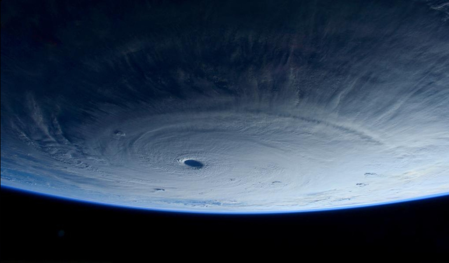 super typhoon maysak from space