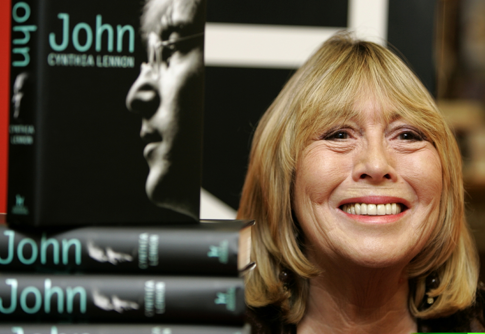 Cynthia Lennon at book launch