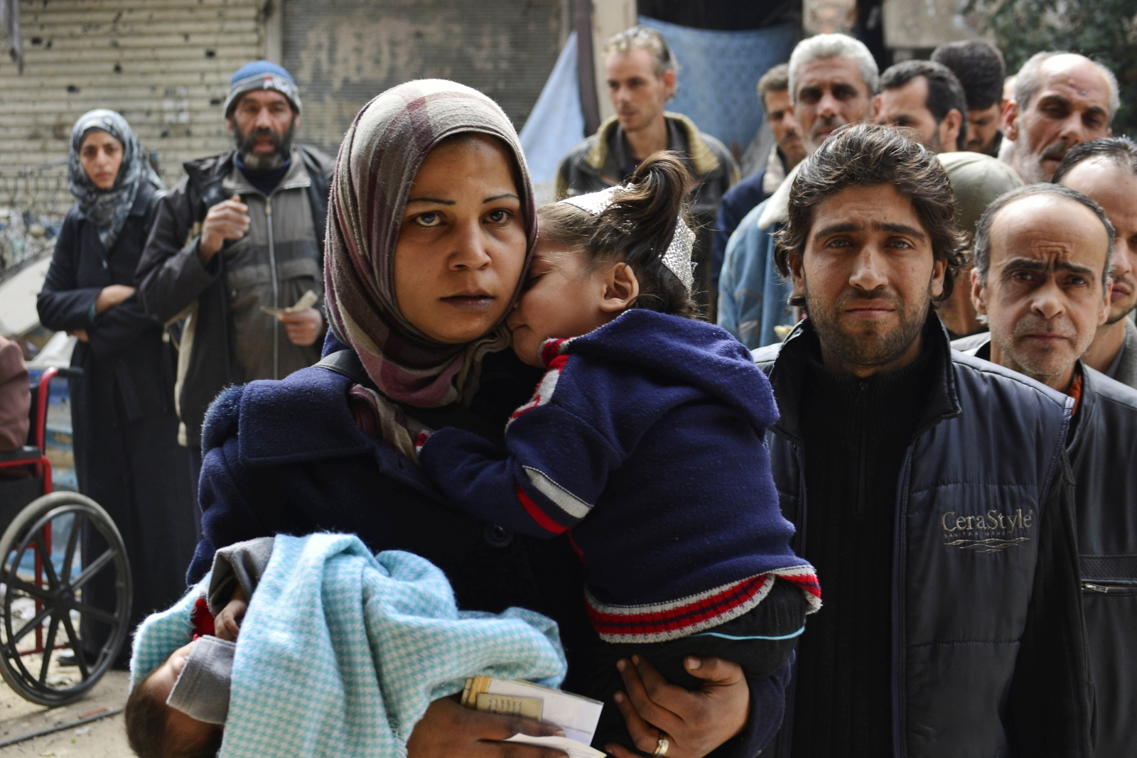 Palestinian refugee camp of Yarmouk