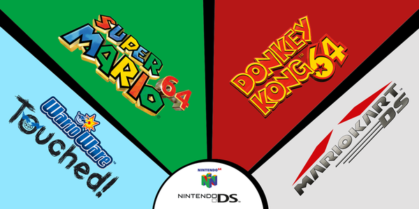 Nintendo launch N64 & DS Virtual Console for Wii U with four