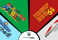 Nintendo Wii U VC N64 DS