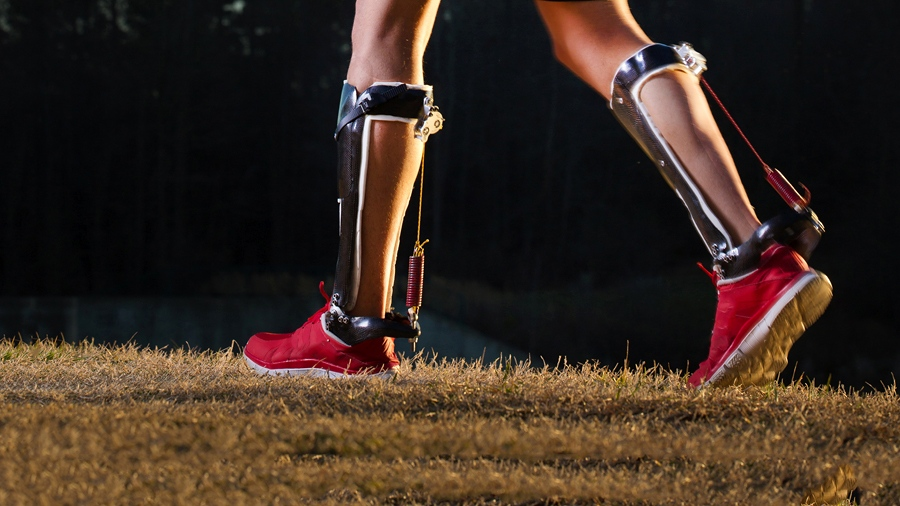 exoskeleton boot walking bionics cyborg