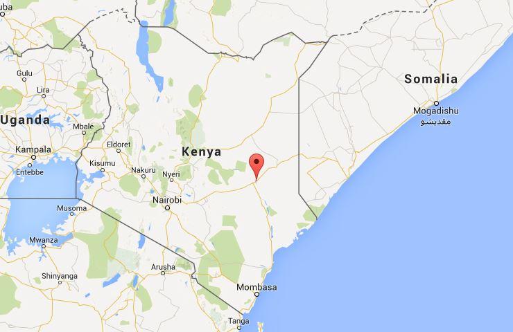 Garissa Kenya Map
