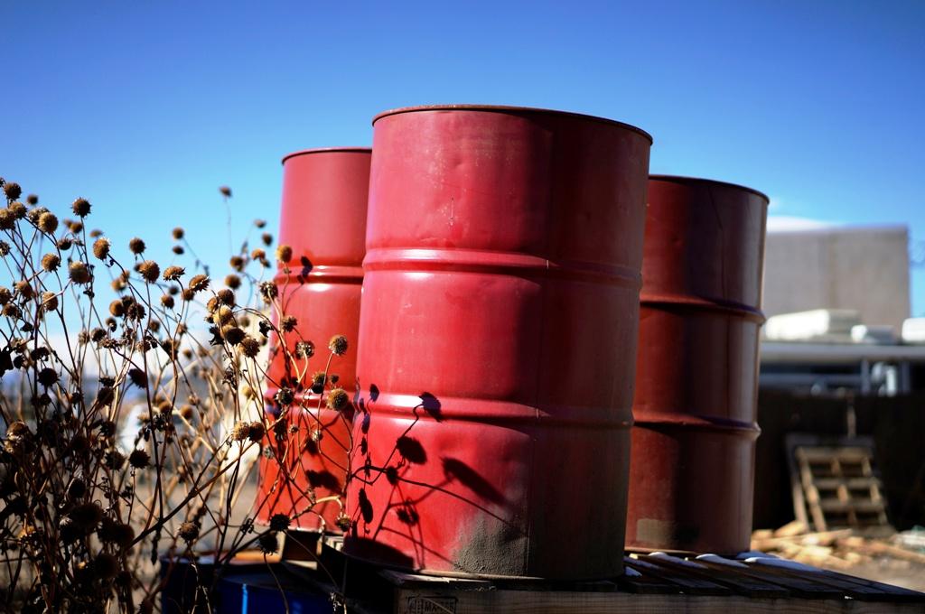 Empty Oil Barrel