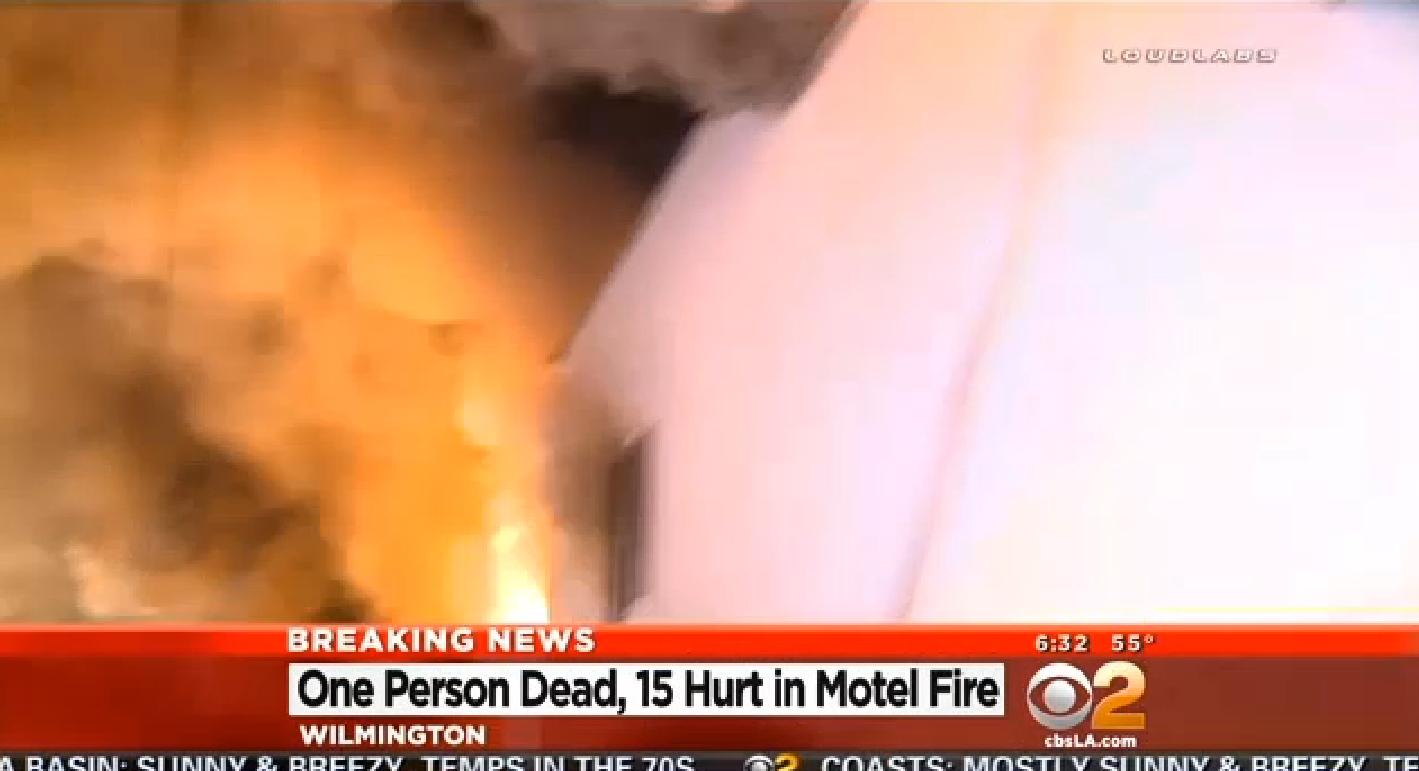 LA Fire kills 1, injures 15