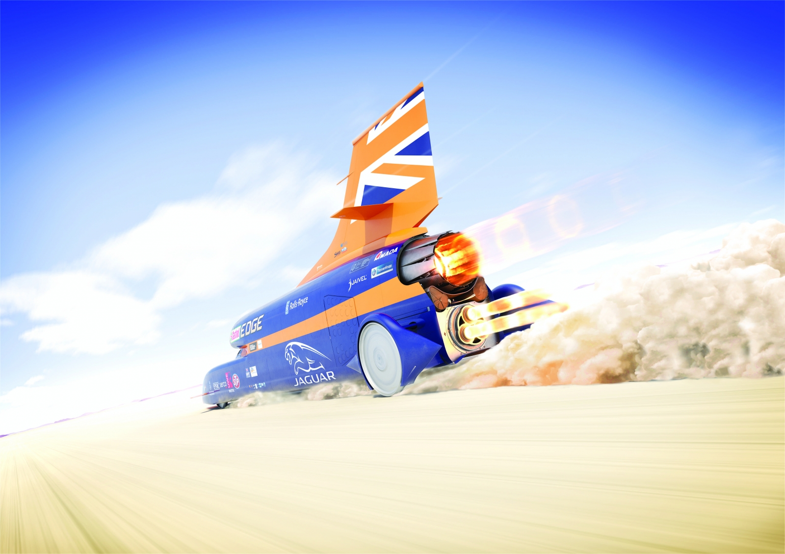 Land Speed Record >> Bloodhound SSC: 15 amazing facts about the 1,000mph car ...