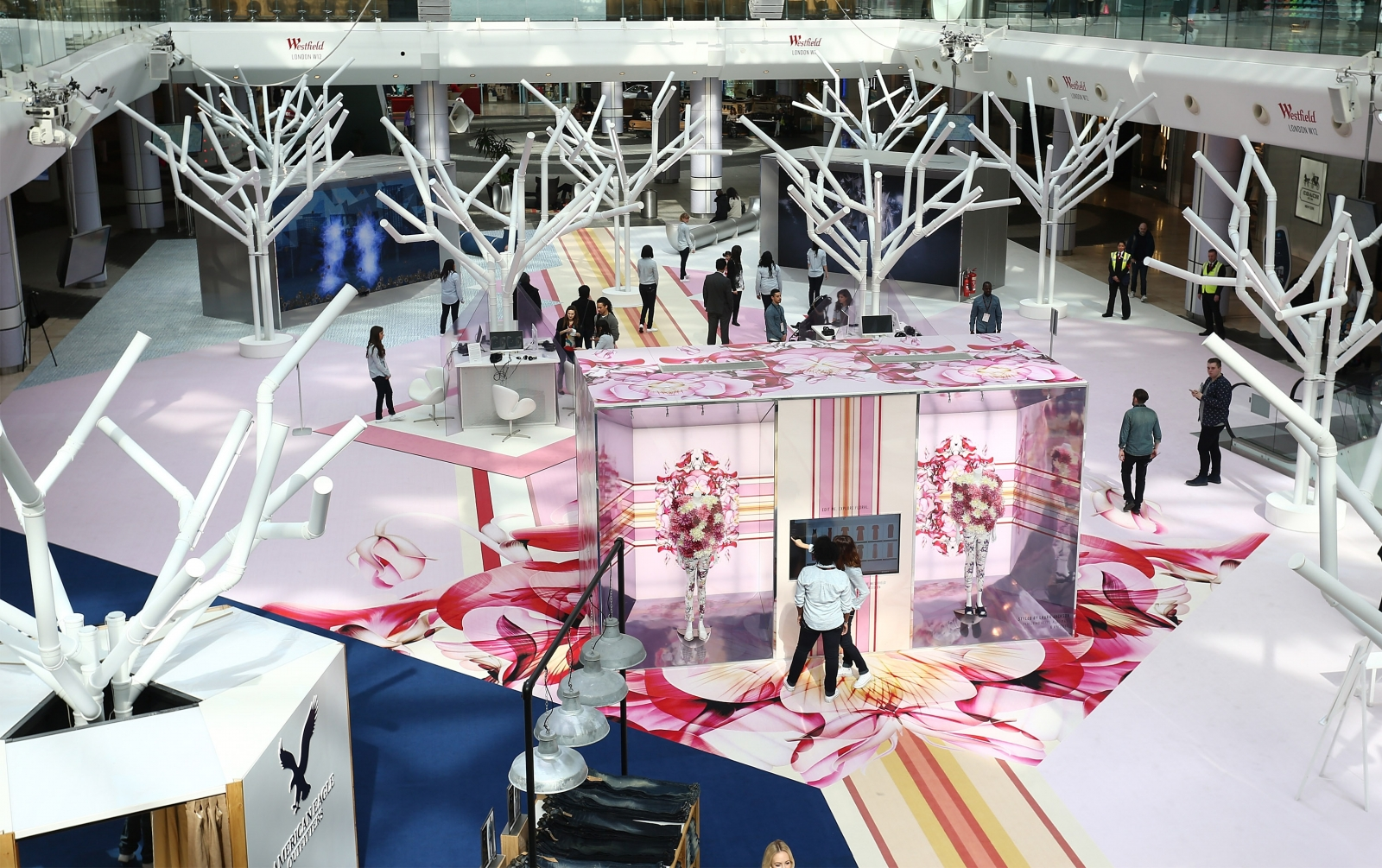 Westfield Future Fashion pop-up interactive experience