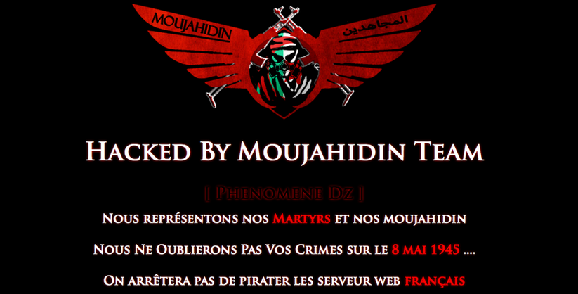 hacked by El Moujahidin