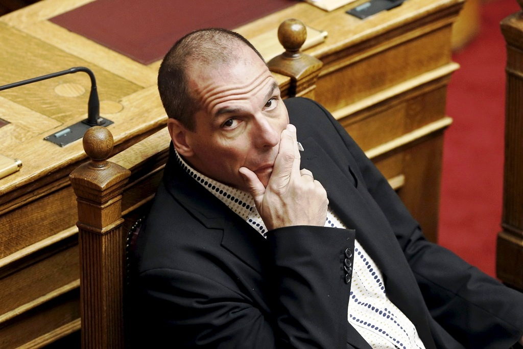 Greece Finance Minister