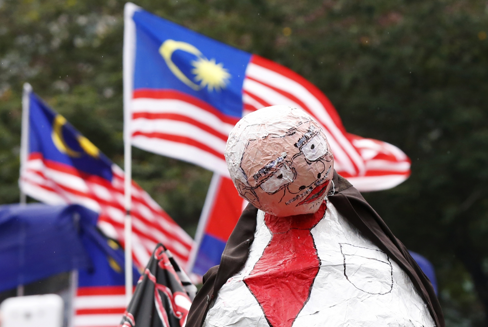 Cartoonist in Malaysia charged with