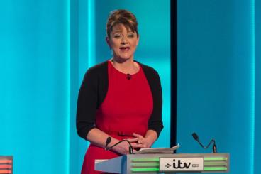 Leanne Wood Plaid Cymru leader in debate
