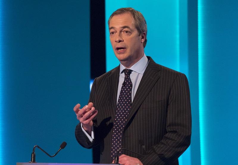 Nigel Farage UKIP general election debate