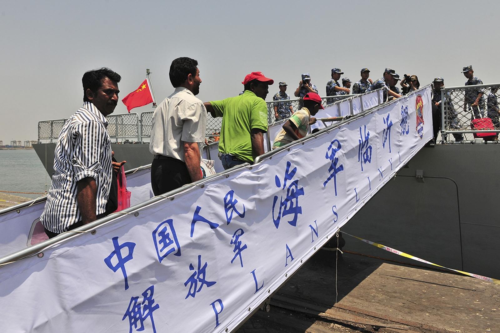China Yemen evacuation