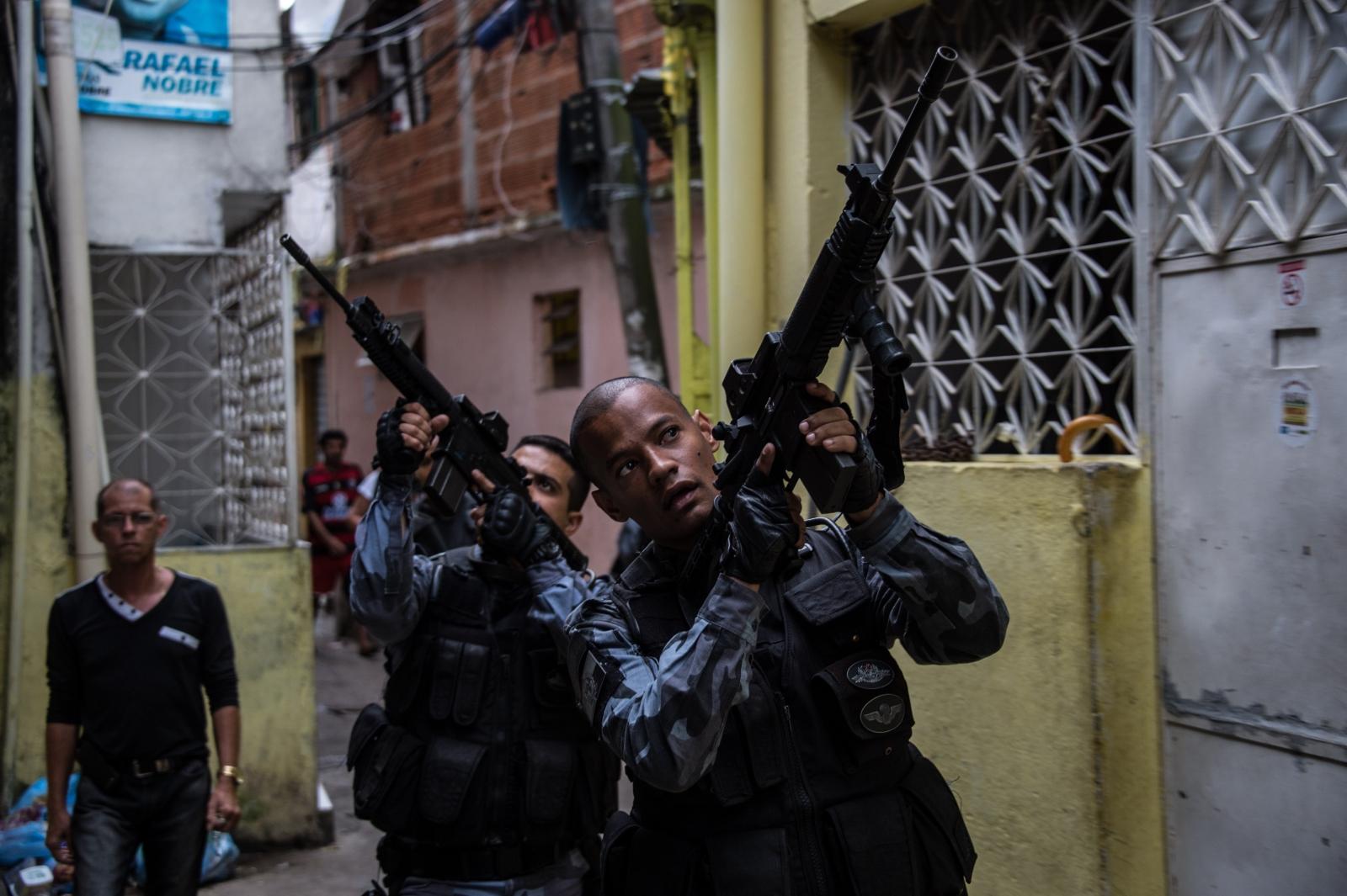 Shantytowns of Rio de Janeiro.