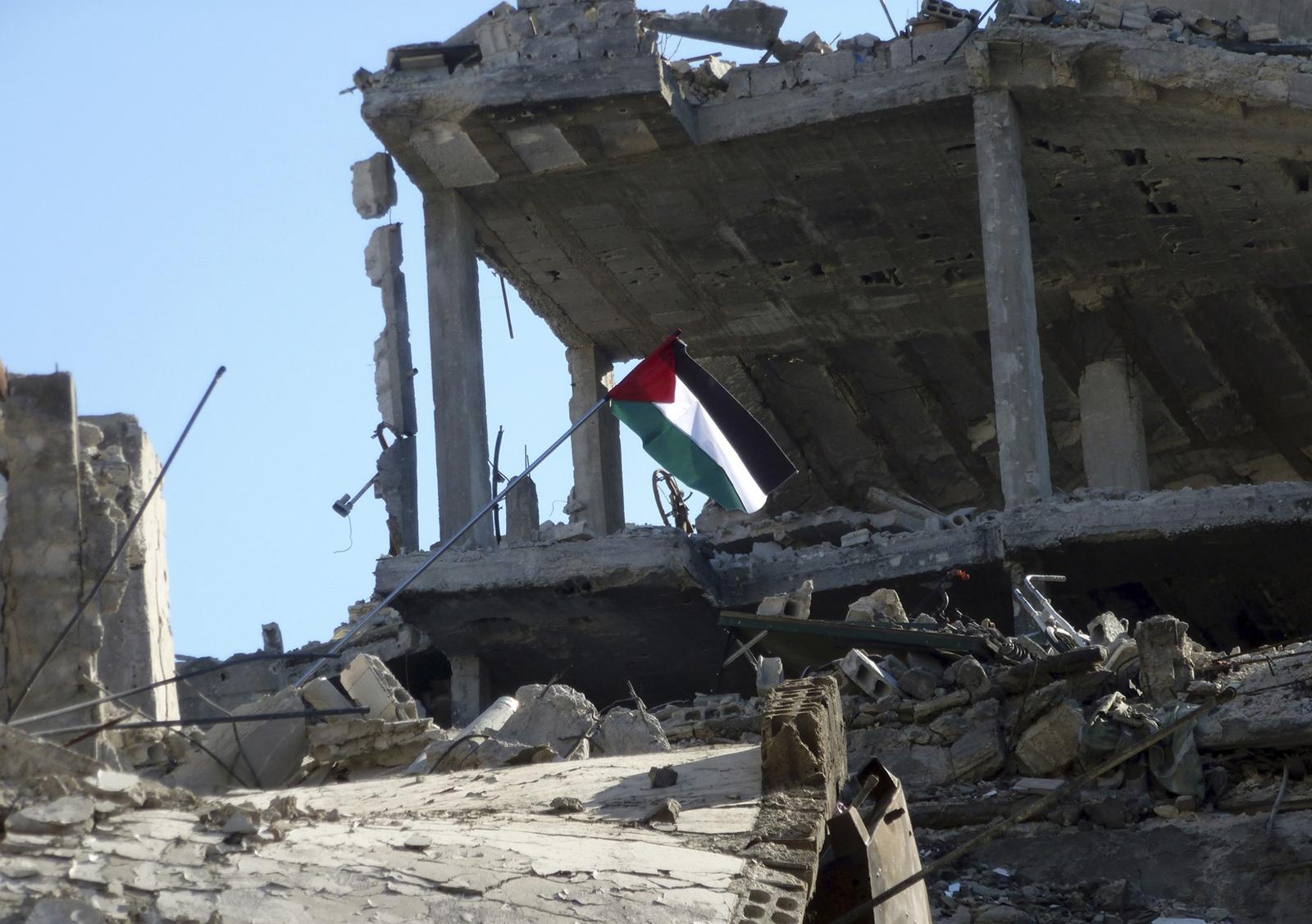 Yarmouk ISIS Palestinian refugee camp Syria