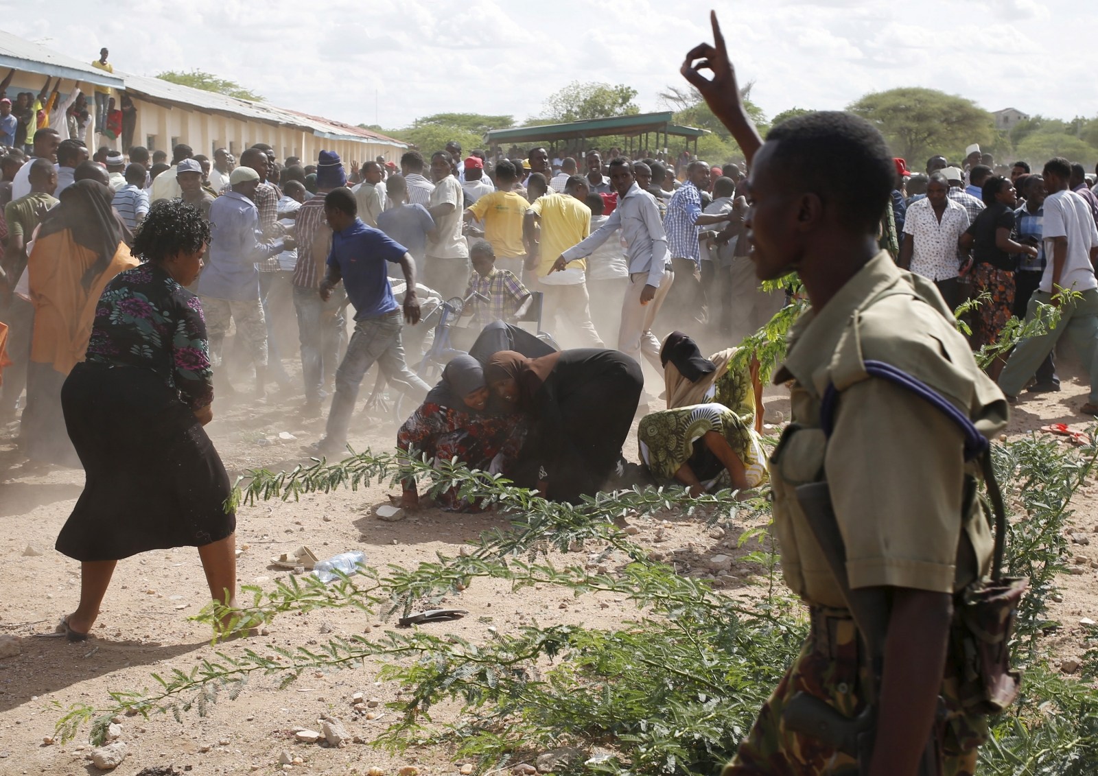 Kenya Garissa University Siege: Security Forces Parade
