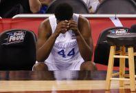 Kentucky Wildcat fans run riot