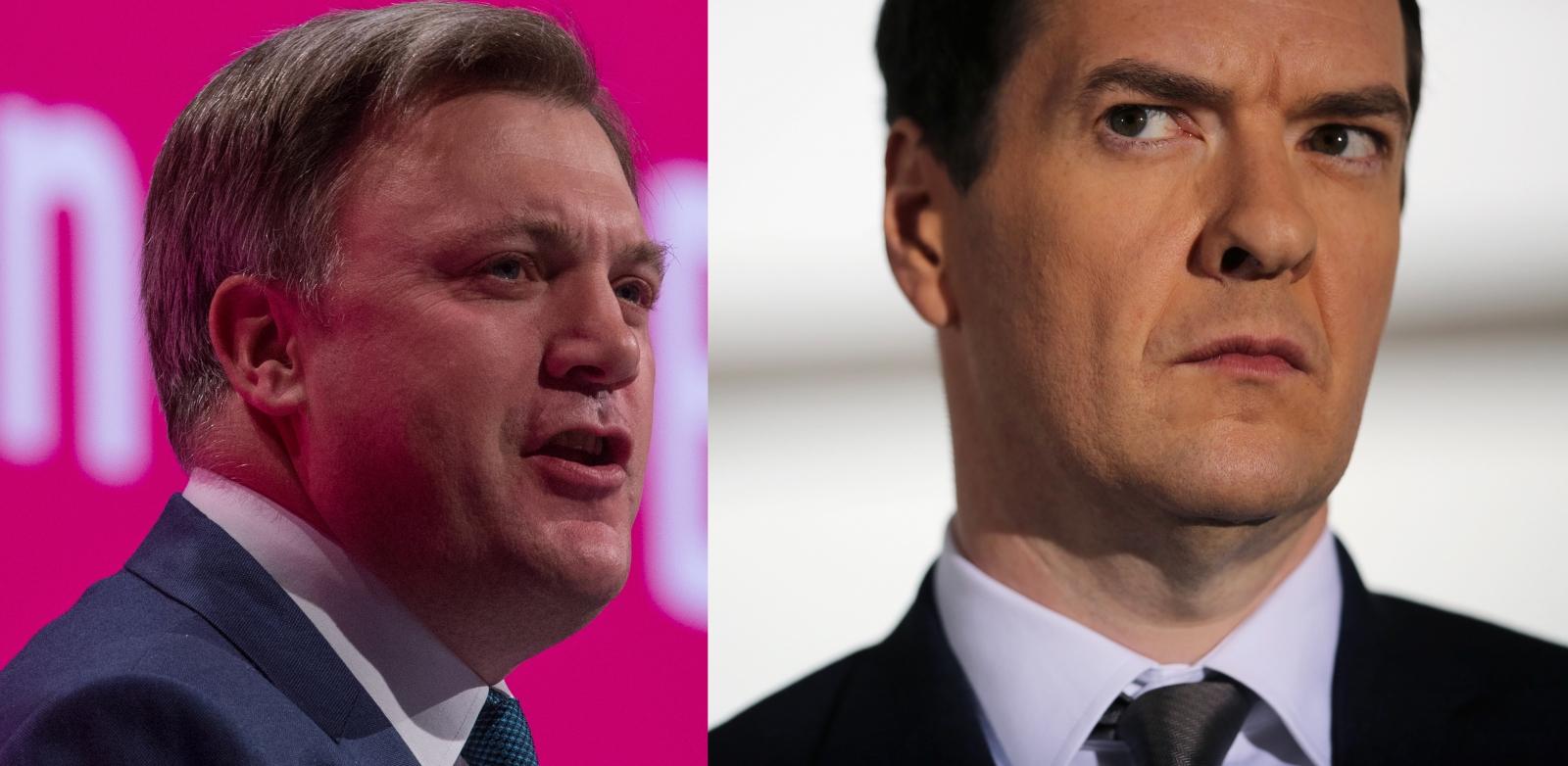 Ed Balls vs George Osborne