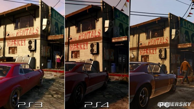 GTA 5 Graphics Comparison