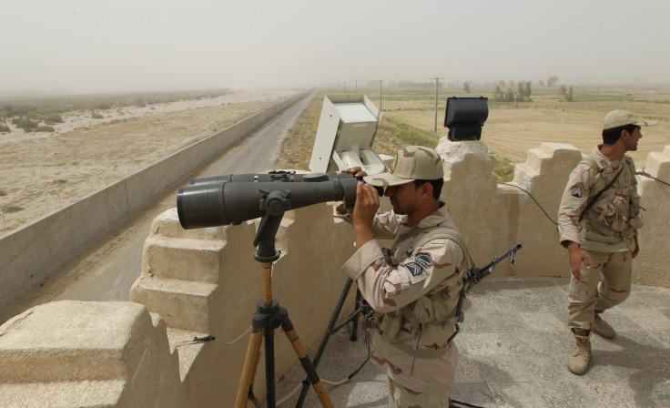 Iranian border guard
