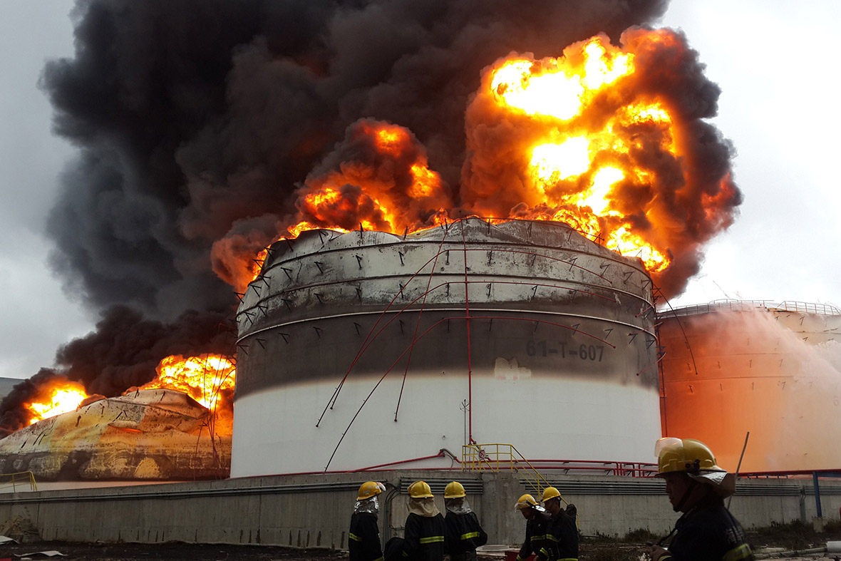 China Explosion And Fire At Toxic Chemical Plant In