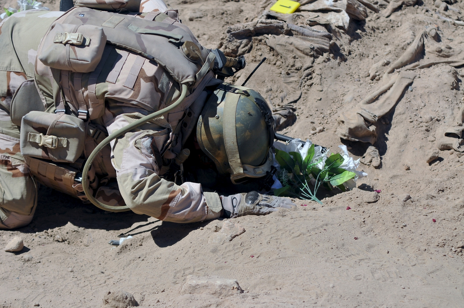 Camp Speicher mass grave Tikrit Isis