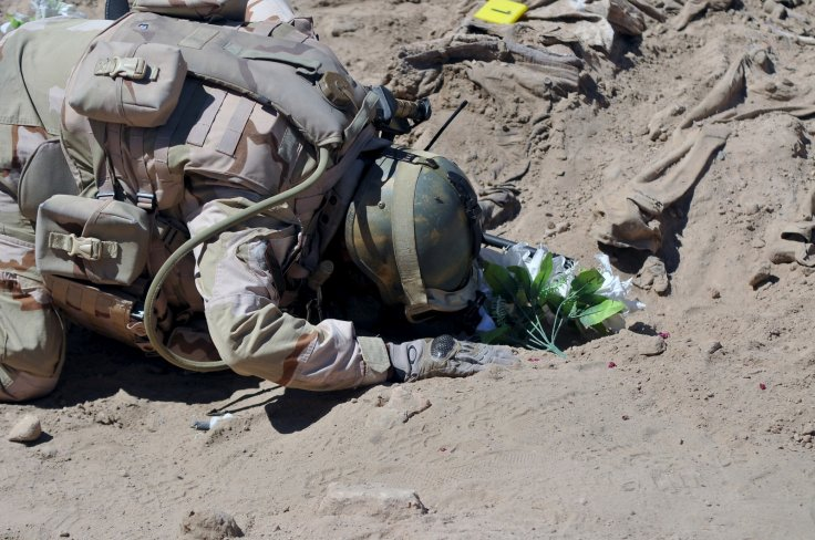 Camp Speicher mass grave Tikrit Isis