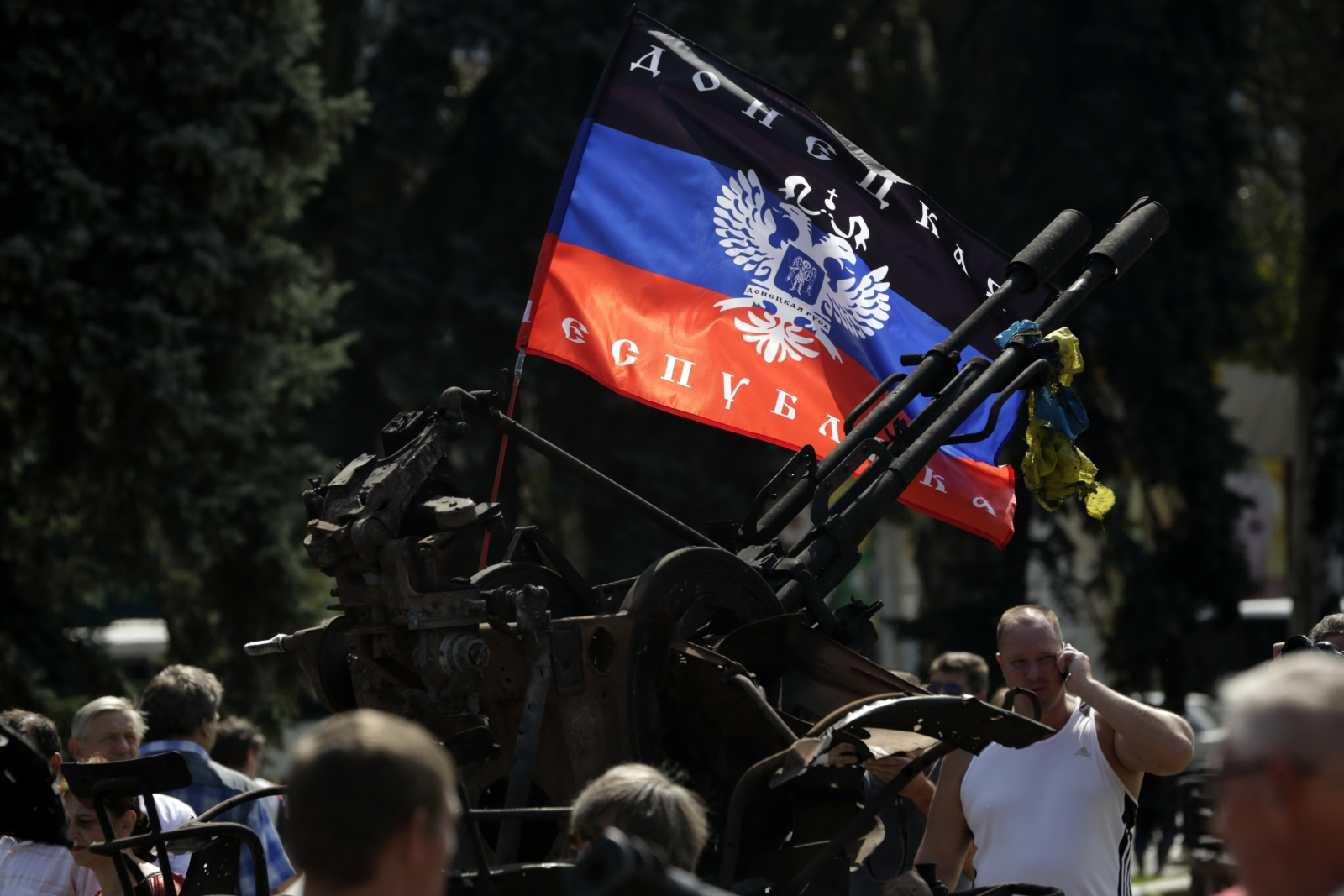 Pro-Russian separatists in east Ukraine