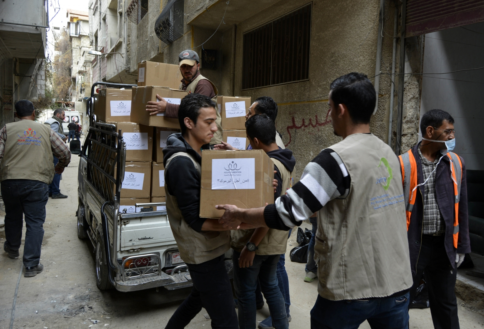 Yarmouk Damascus Palestinian refugee camp