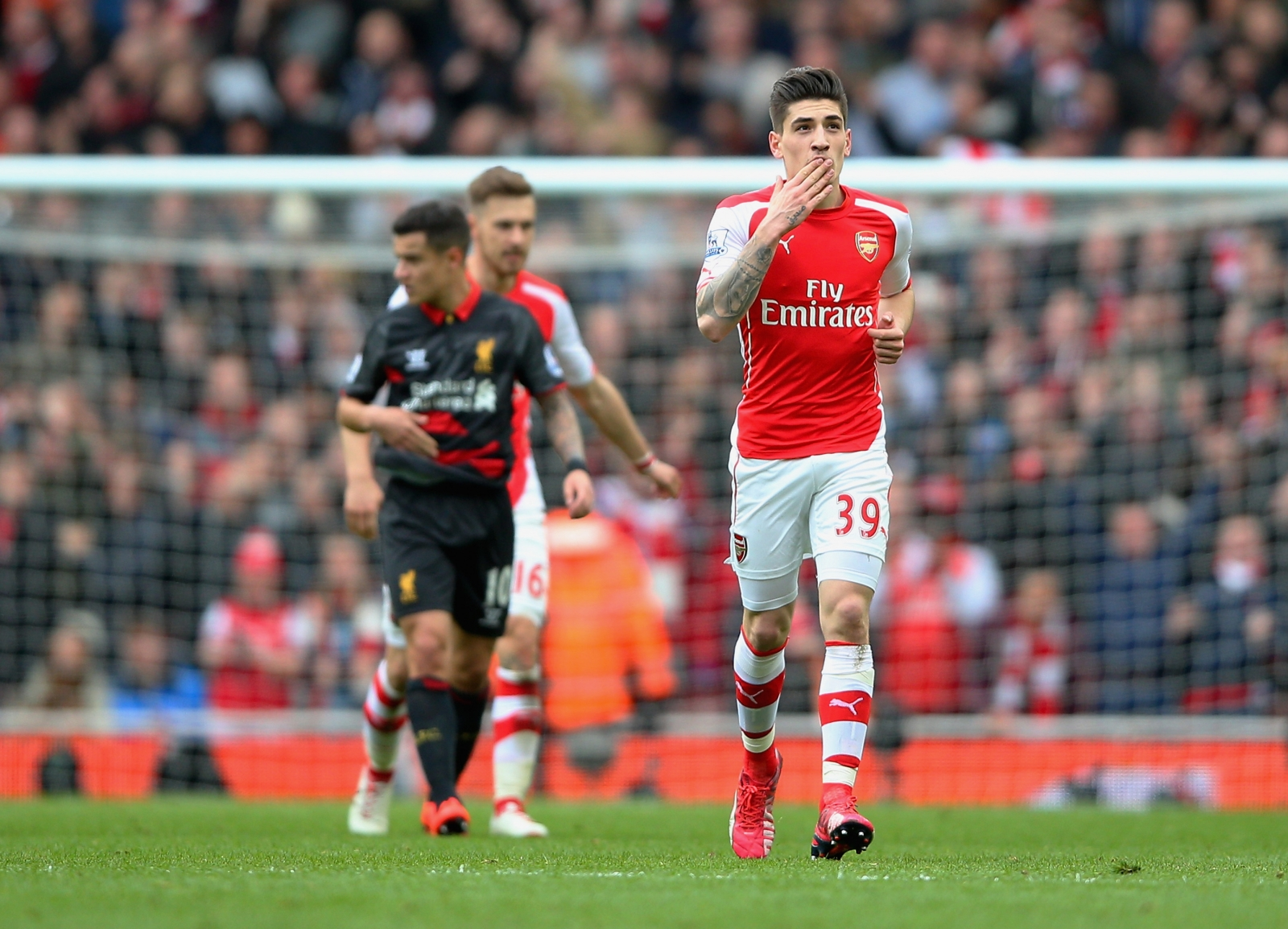 Hector Bellerin is officially the fastest player at Arsenal