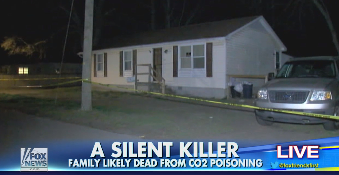 Maryland Family Dies of Carbon Monoxide Poisoning