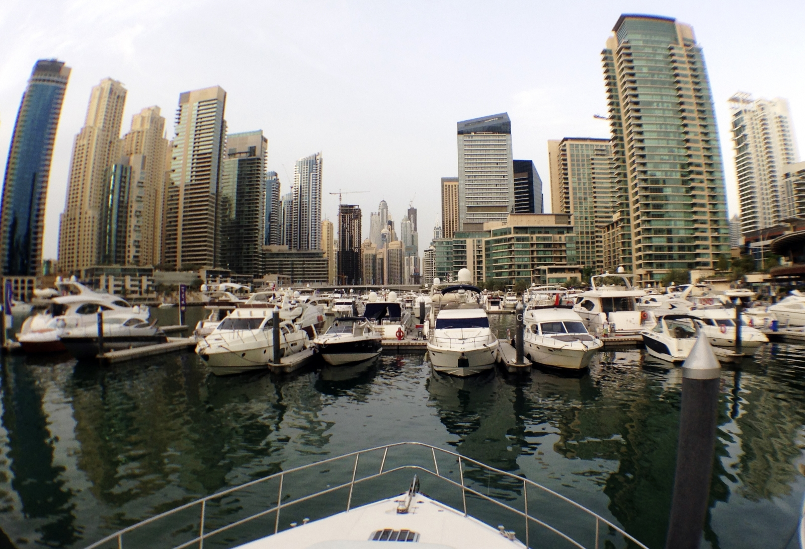Dubai Marina Yacht