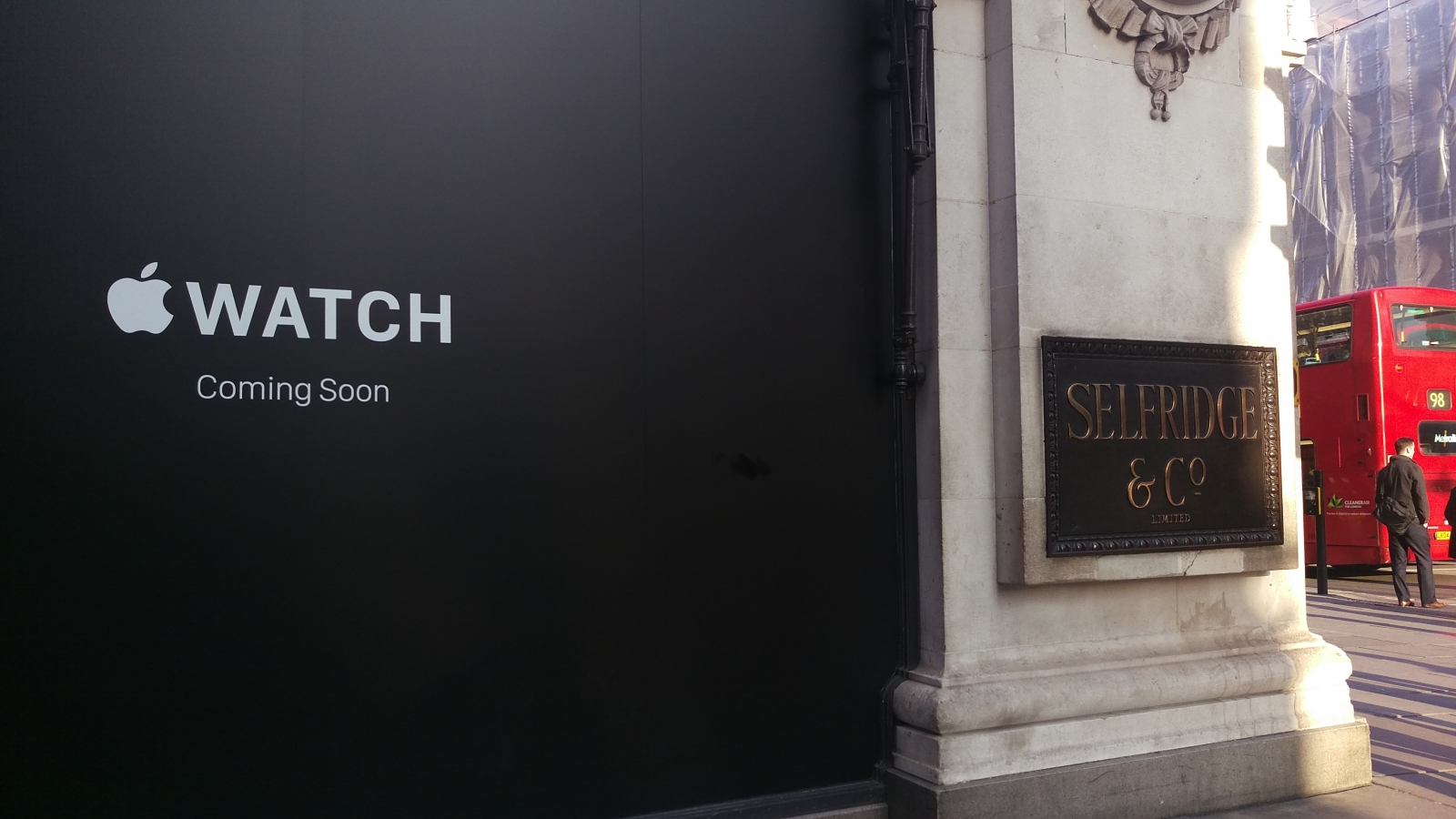 Apple Watch at Selfridges