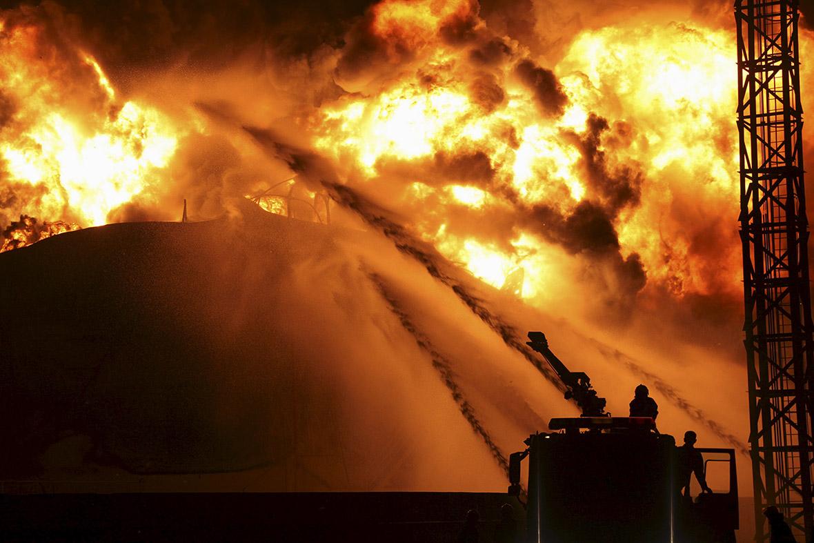Zhangzhou chemical plant fire