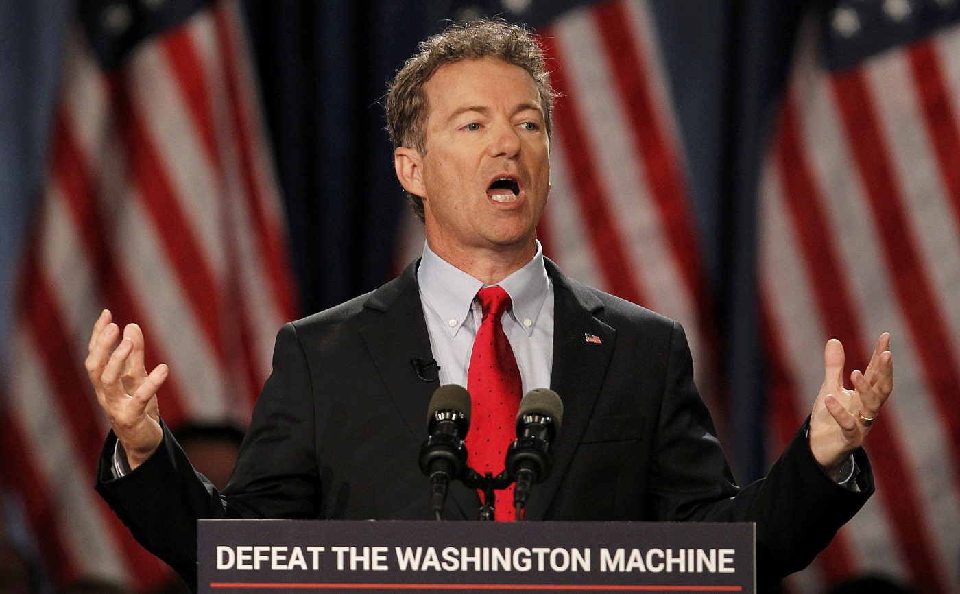 rand paul bitcoin donations president