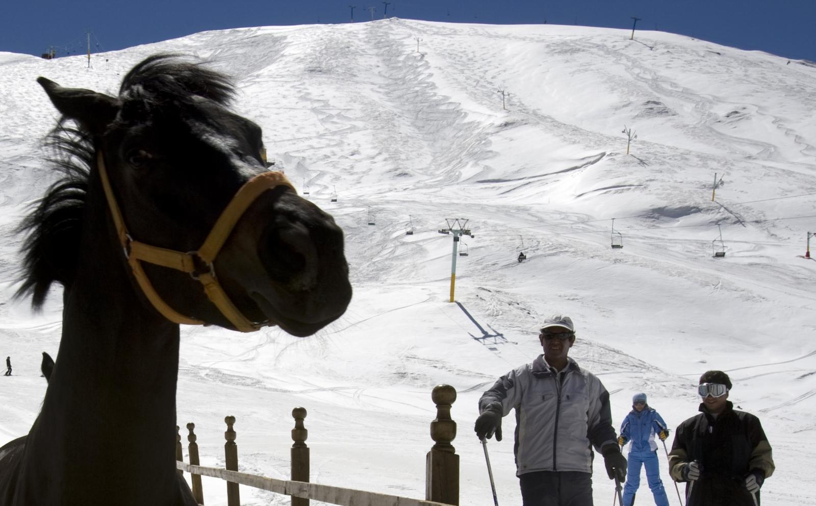Iran Skiing Shemshak