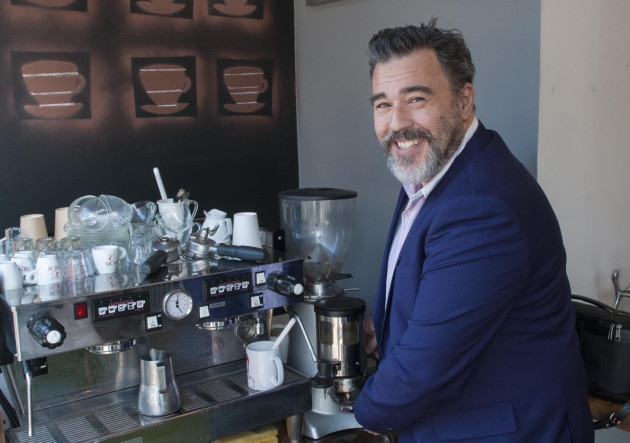 Gavin Juniper, chief barrista