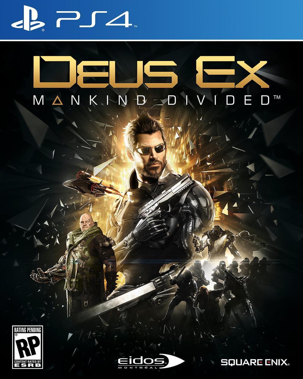 Deus Ex Mankind Divided Trailer