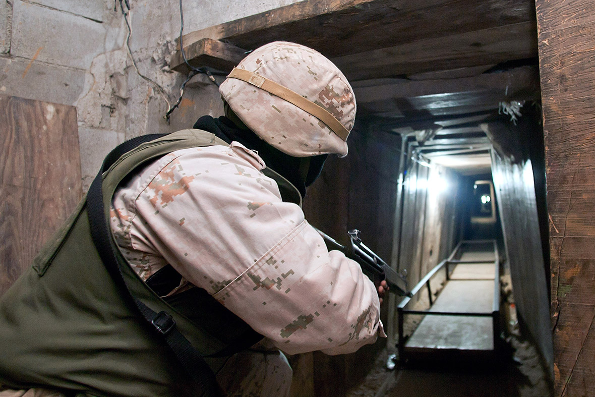 Mexico drug tunnels