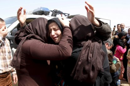 Yazidi members released by Isis