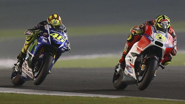 Valentino Rossi-Andrea Iannone
