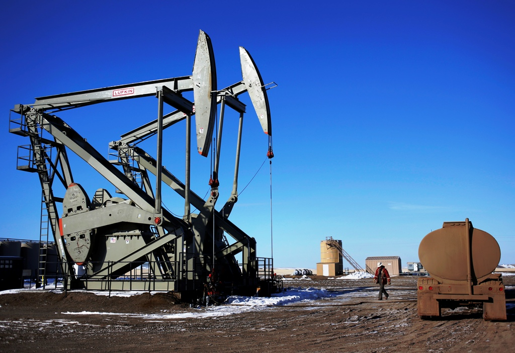 Crude Oil Pump Jacks