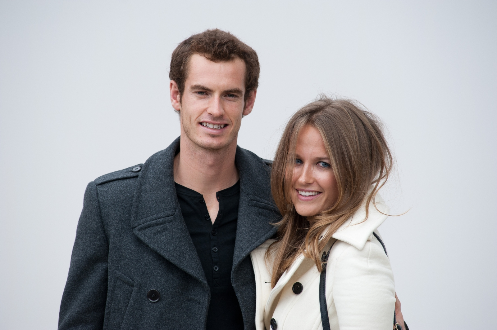 Andy Murray and Kim Sears in Burberry