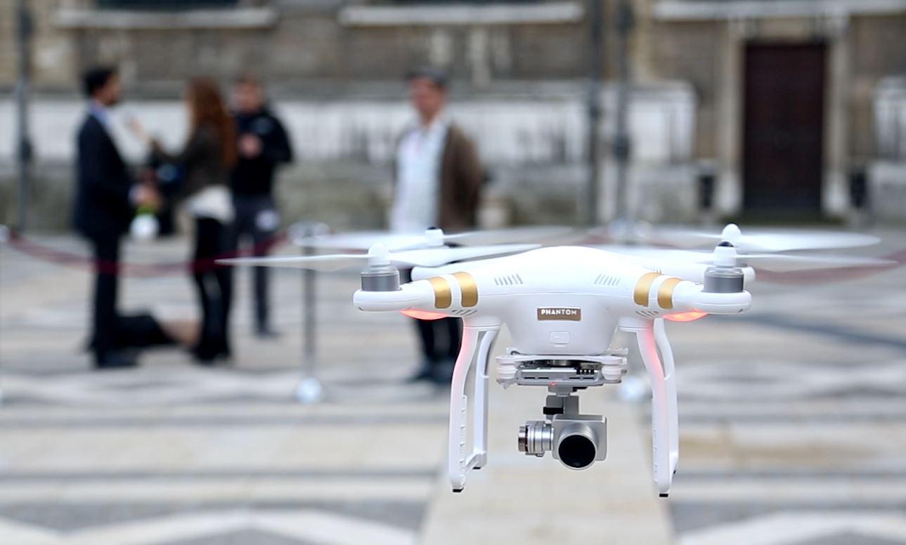 DJI Phantom 3 drone release